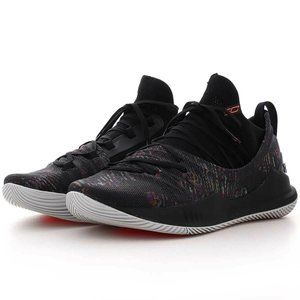 NEW YOUTH UNDER ARMOUR CURRY PS 5 SC Multi Color B